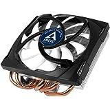 ARCTIC Accelero Mono Plus - Ventilador para placa grafica, 120 mm, 400-1500 rpm, ultrasilencioso, amplia compatibilidad - Negro y blanco