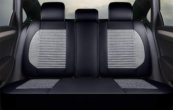 Amazon.es: Balscw Cojín de asiento de automóvil rodeado - cáscara de trigo sarraceno de salud, almohadilla universal de cuatro estaciones, cáñamo de fibra ...