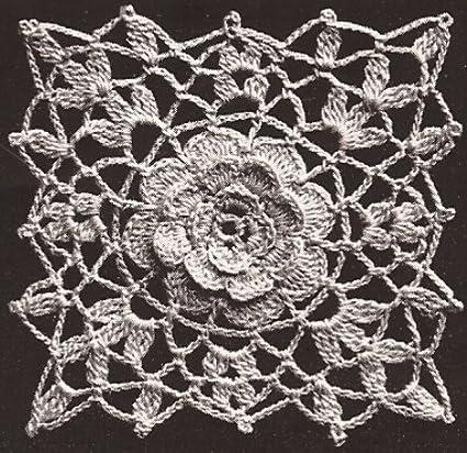 Amazon Vintage Crochet Pattern To Make Irish Rose Crochet