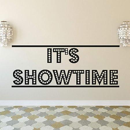 XIAOJIE0104 Diseño de Cine Etiqueta de la Pared Es Showtime ...