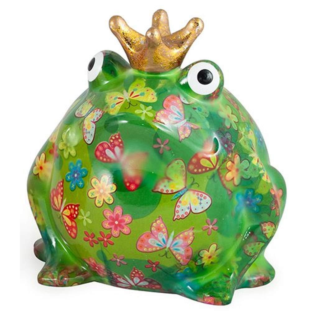 Pomme-Pidou Freddy Frog Bank - Green