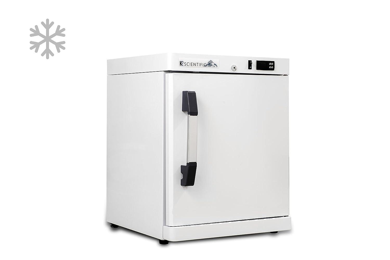 K2 Scientific 2.5 cu. ft. Pharmaceutical/Vaccine Benchtop Solid Door Freezer