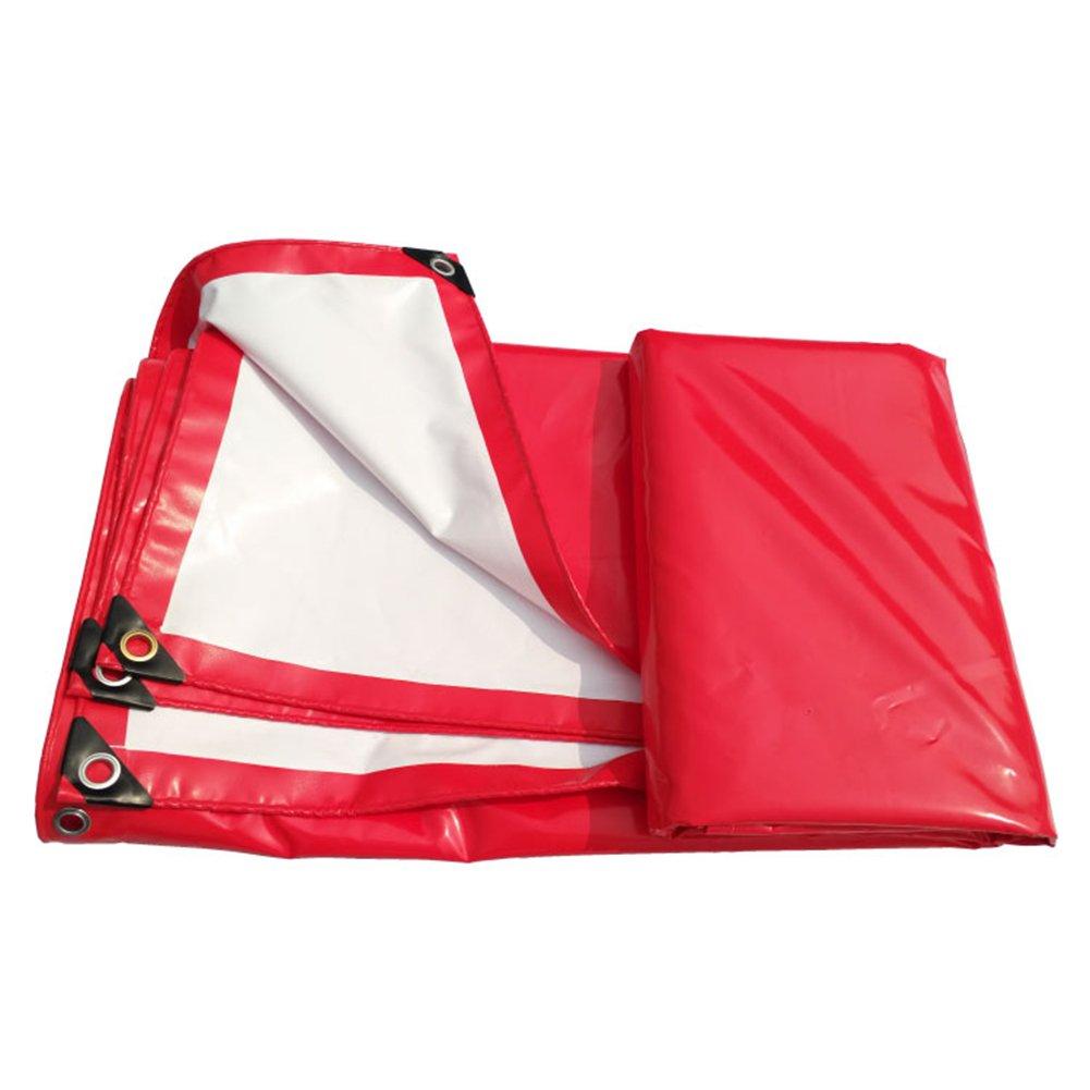 【日本限定モデル】 TLMYDD 赤と白のPVC天蓋のトップの布防水の日焼け止めの耐摩耗性のお祝いのテント防水布トラックプッシュプル ターポリン B07L63VX9N (色 : さいず Red+White, サイズ さいず 6x8m : 6x8m) 6x8m Red+White B07L63VX9N, THE GATE ONLINE STORE:4db9adf0 --- arianechie.dominiotemporario.com