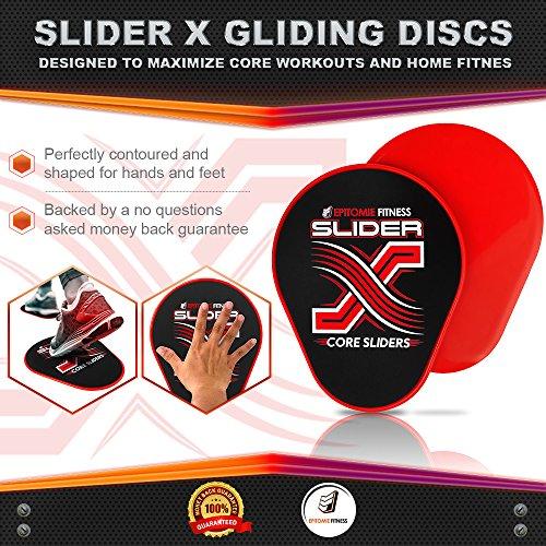 Slider X Gliding Discs Core Sliders Set For