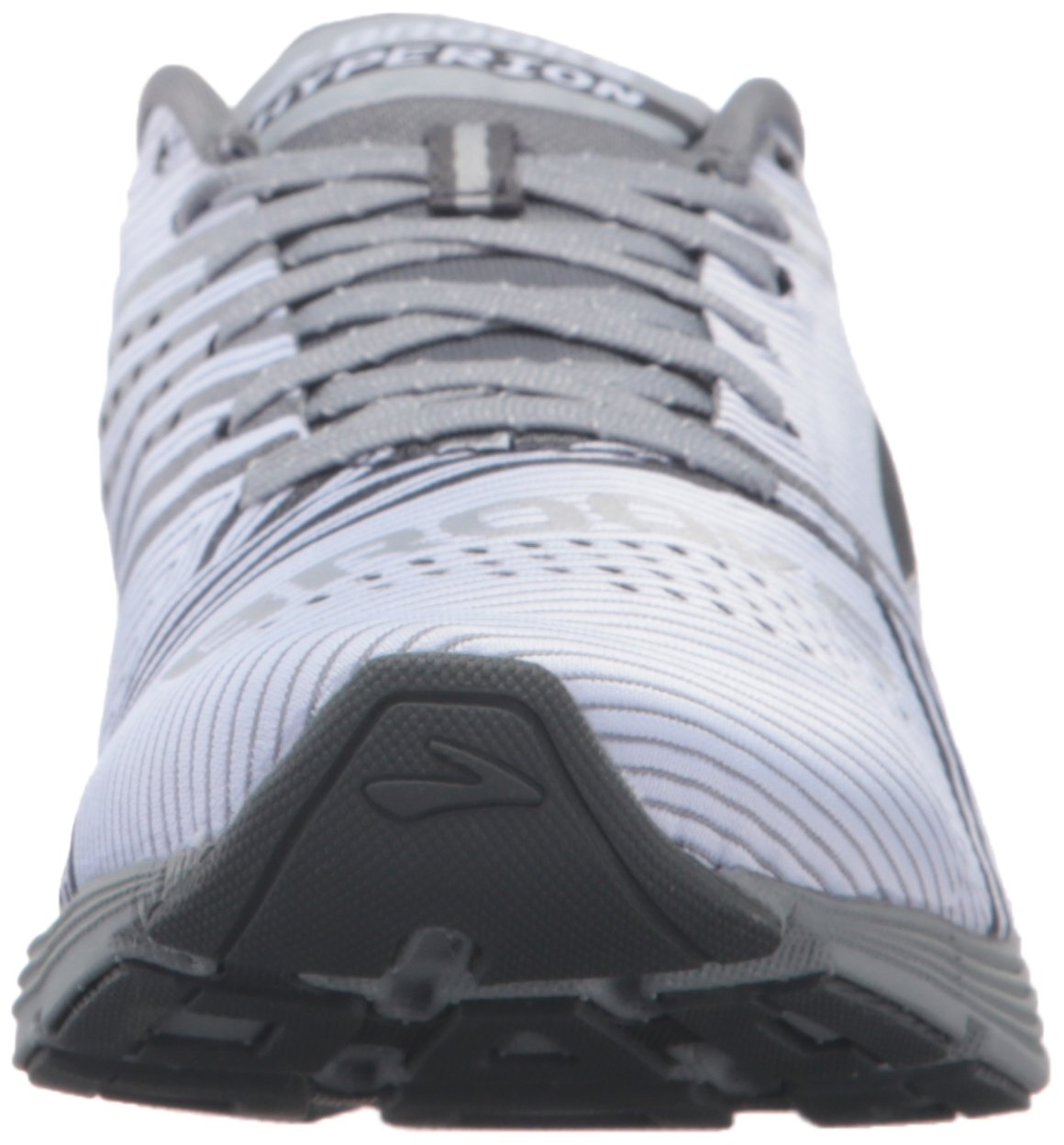 Brooks Womens Hyperion B01A9NG6HS 9 B(M) US|White/Primer Grey/River Rock