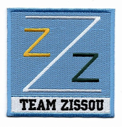 Life Aquatic Zissou Costume (Life Aquatic Team Zissou Logo Costume Patch iron on Patch)
