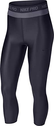 bb34b2e891 Amazon.com: NIKE Womens Pro Hypercool 7/8 Training Tights (L ...