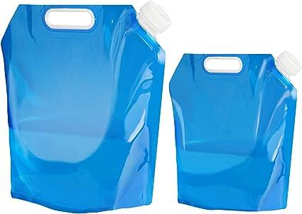 Faltbarer 10 Liter Wasserkanister Camping Behälter für Trinkwasser Faltkanister