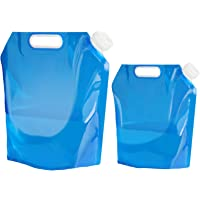 Recipiente para agua de Aboat, plegable, para transportar, ideal para deportes, campamento, senderismo, pícnic, barbacoa…