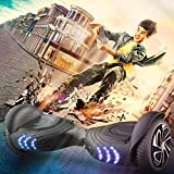 TOMOLOO Music-Rhythmed Hoverboard for Kids and