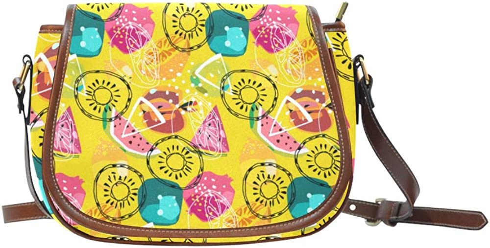 Colorful Doodle On Paper Classic Shoulder Bag Flap With Magnetic Snap Printed Woman Crossbody Bag Womans Shoulder Bag