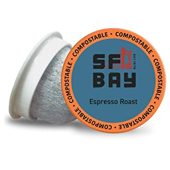 SF Bay Dark Roast Compostable Espresso K Cup