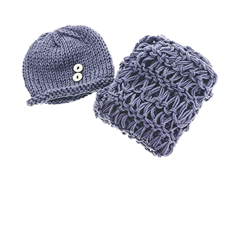fightingmarine de azul de cabeza 40 cm New Born Baby Crochet gorro ...