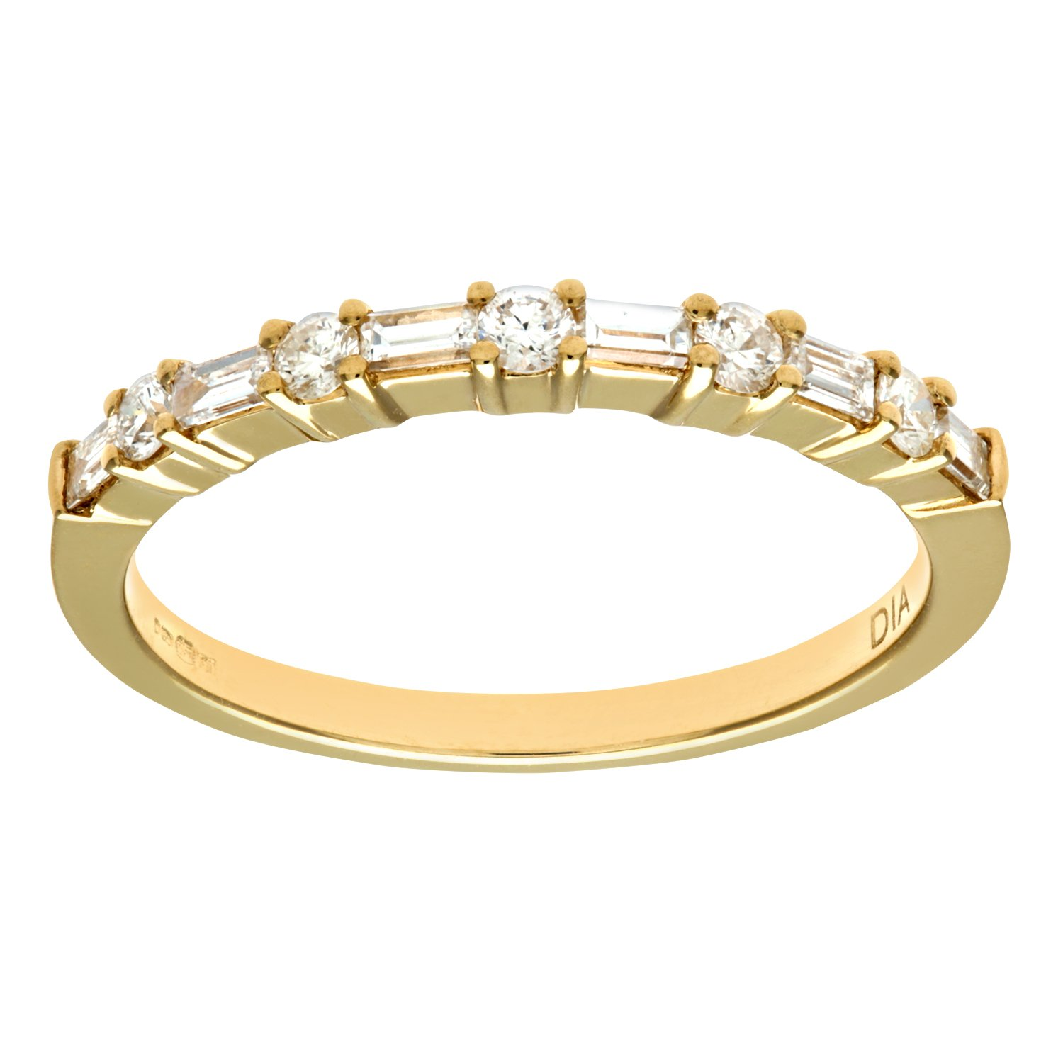 round eternity ring gold jewellery in pin white rings cut diamond
