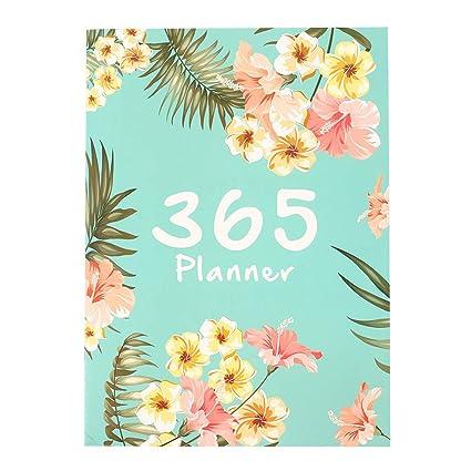 KICC A4 2019 Año 365 Días Flores lindas Calendario Horario ...