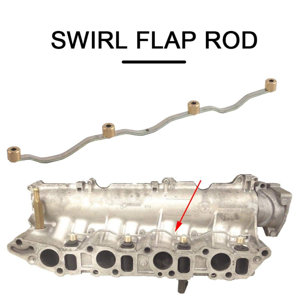 Gorgebuy Swirl Flap Rod Carchet for Vauxhall SAAB ALFA Z19DTH 1.9 CDTi TiD JTD Inlet Intake Manifold