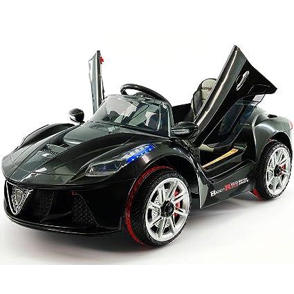 Amazon.com: 2019 Spider Racer Ride-ON juguetes de coche 12 V ...