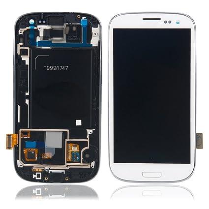 Amazon com: For Samsung Galaxy S3 SGH-i747 T999 ~ White