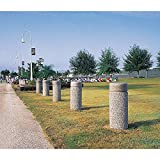 Wausau Tile - TF6017W22 - Bollard, Round, 18in.Lx18in.Wx48in.H