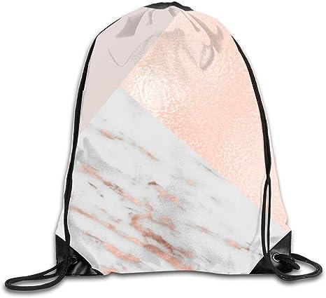 rose gold pe bag for school