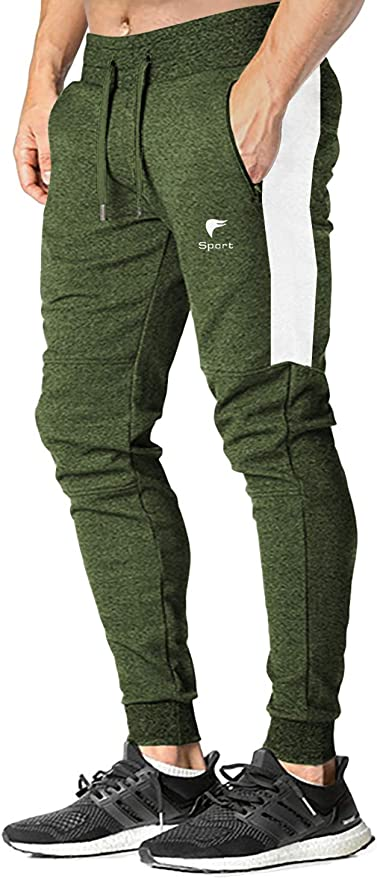 FASKUNOIE Womens Joggers Sweatpants Breathable Close Bottom Running Casual Pants with Pockets