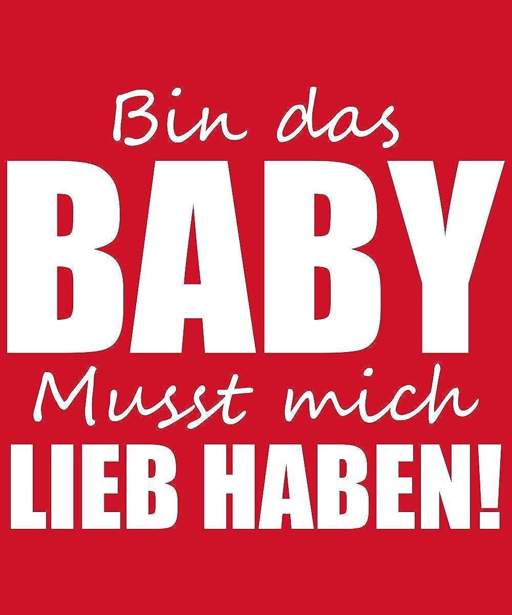Bin das Baby musst Mich Lieb haben Babybody clothinx