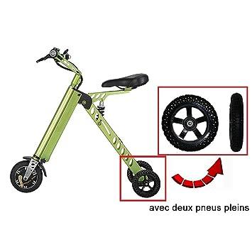 ToMate Minivehículo Eléctrico, Scooter y Triciclos Eléctricos y Inteligentes, y Bicicleta Eléctrica Plegable y