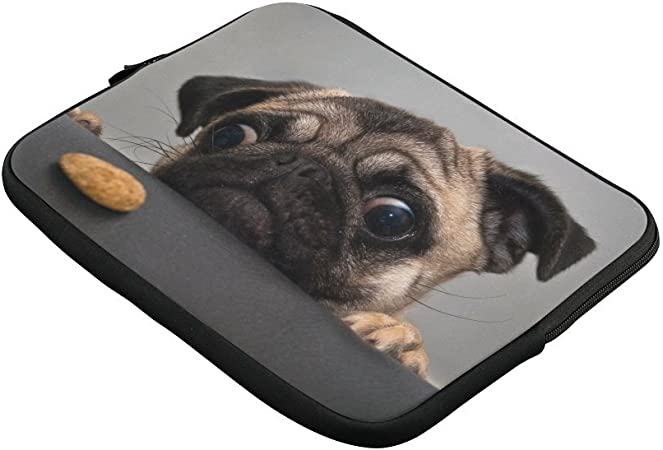 VEGAS Yorkshire Terrier Puppy Laptop Sleeve Case Bag Handbag for MacBook//Notebook//Ultrabook Lightweight Carring Protector for Samsung Sony ASUS Acer Lenovo Dell HP Toshiba Chromebook Computers