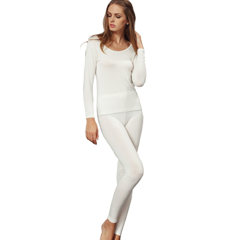Liang Rou Damen mit Rundhalsaußchnitt Stretch dünnes Unterwäsche Set, Oberteile und Unterhosen MS861S-$S