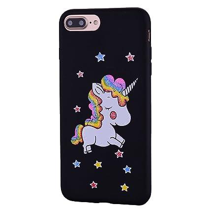new arrival c3851 07a81 Amazon.com: iPhone 7 Plus Case, iPhone 8 Plus Case, Ranyi [Glitter ...
