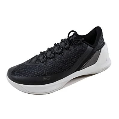 0cbc10d8f1f Under Armour Men s Curry 3 Low Black Aluminum-Black 1286376-002 Shoe 8