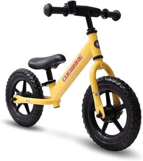 COEWSKE - Bicicleta de equilibrio para niños de 12 pulgadas, sin ...