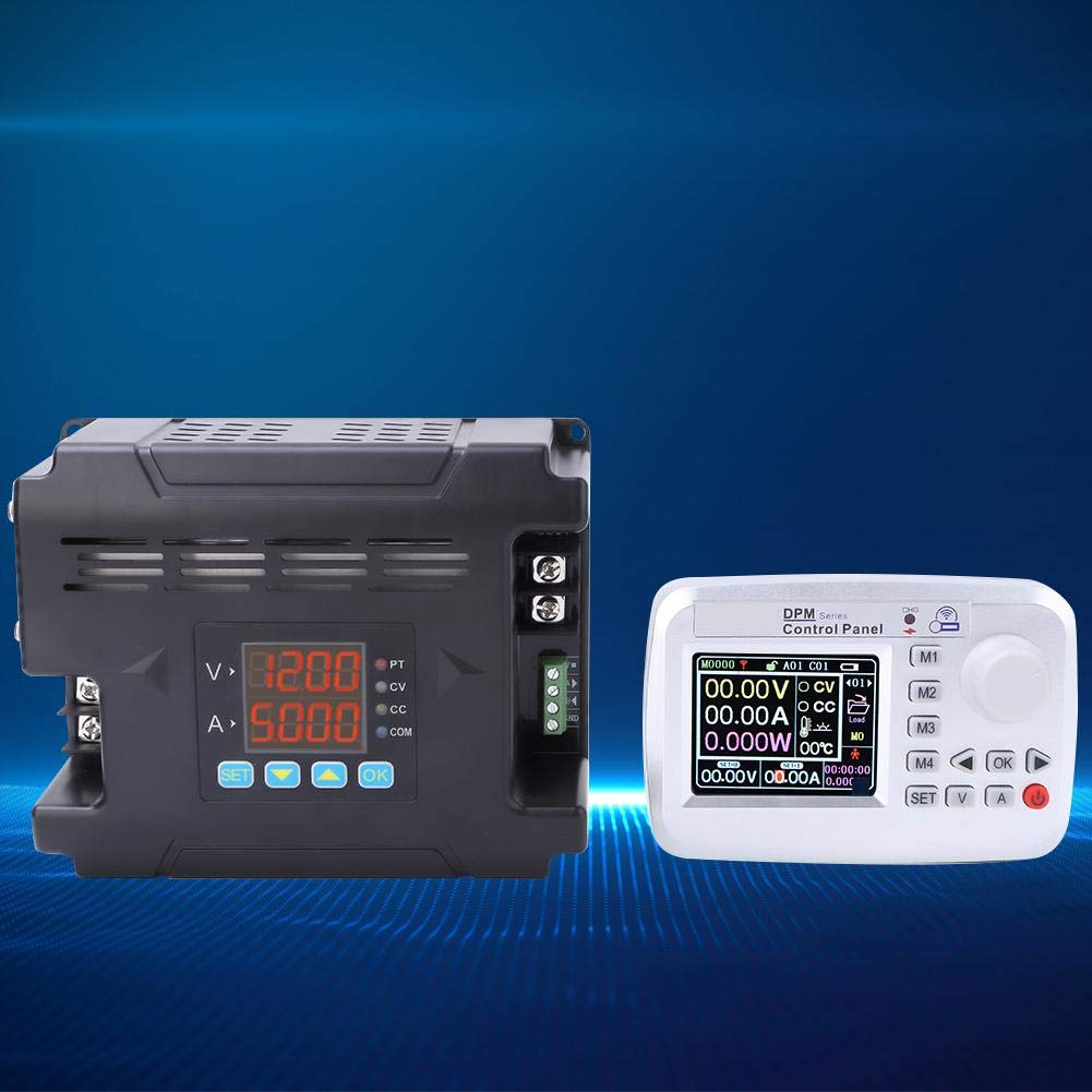 0-60V 0-24A Ouput Adjustable DPM8624-RF/Digital Adjustable DC Power Supply with LCD for Industrial Control Programmable DC Power Supply Industrial Control,Medical Equipment,etc
