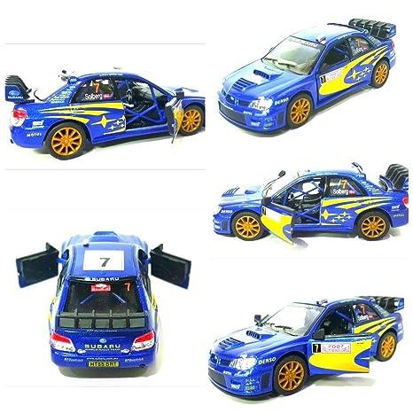 De 1 Impreza Voiture Sports Échelle Wrc Rallye Subaru 36 2007 Modèle m8wvNn0O