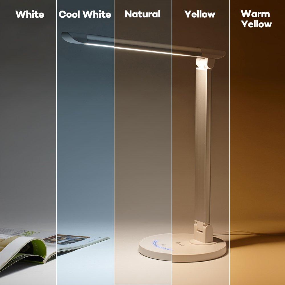 Amazon.com: TaoTronics LED Desk Lamp, Eye-caring Table Lamps ...