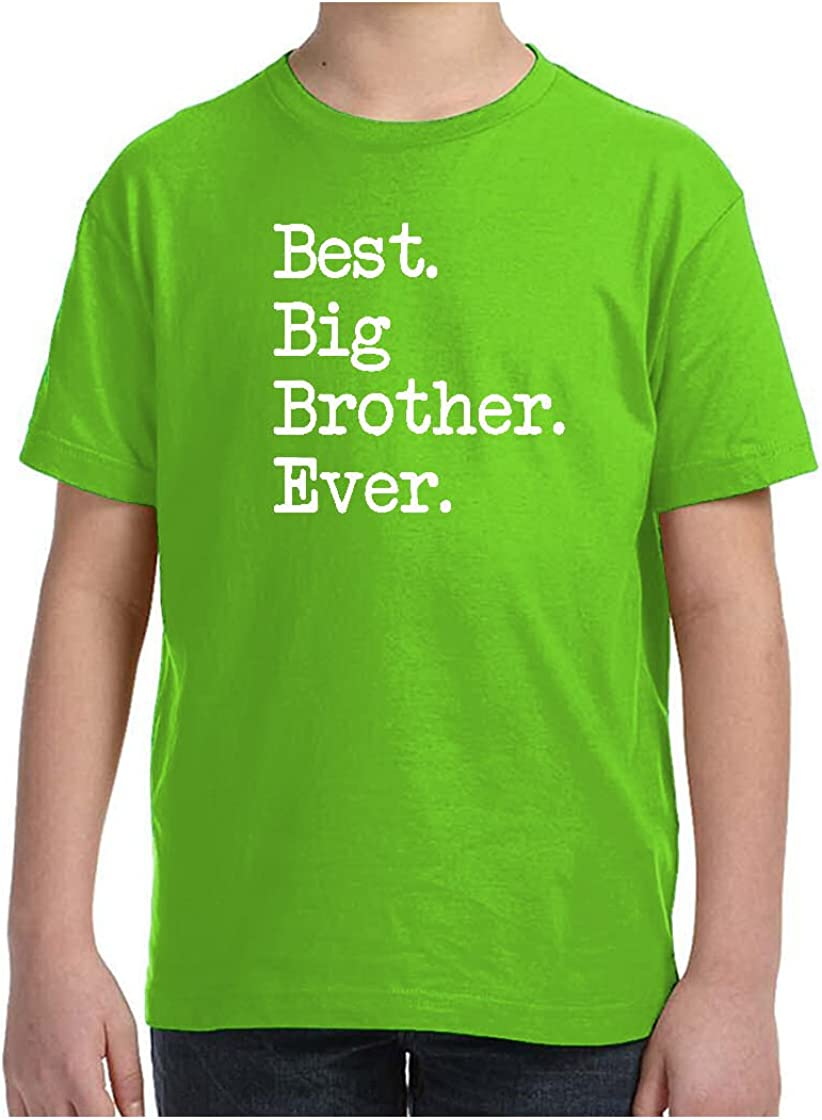 Mashed Clothing Kids Best Big Brother Ever T-Shirt