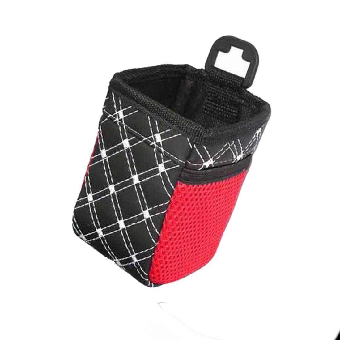 Grid Net Car Auto Air Vent Outlet Sundries Cell Phone Storage Bag Box Case Pouch Pocket Holder - Random Color