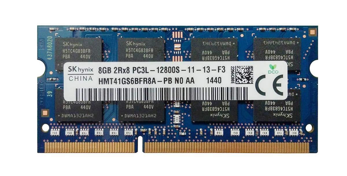 HMT41GS6BFR8A-PB LOT OF 2 X HYNIX 8GB DDR3 Laptop Ram Memory 2Rx8 PC3L-12800S