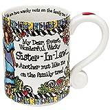 Enesco Suzy Toronto Sister-in-Law Mug by Enesco
