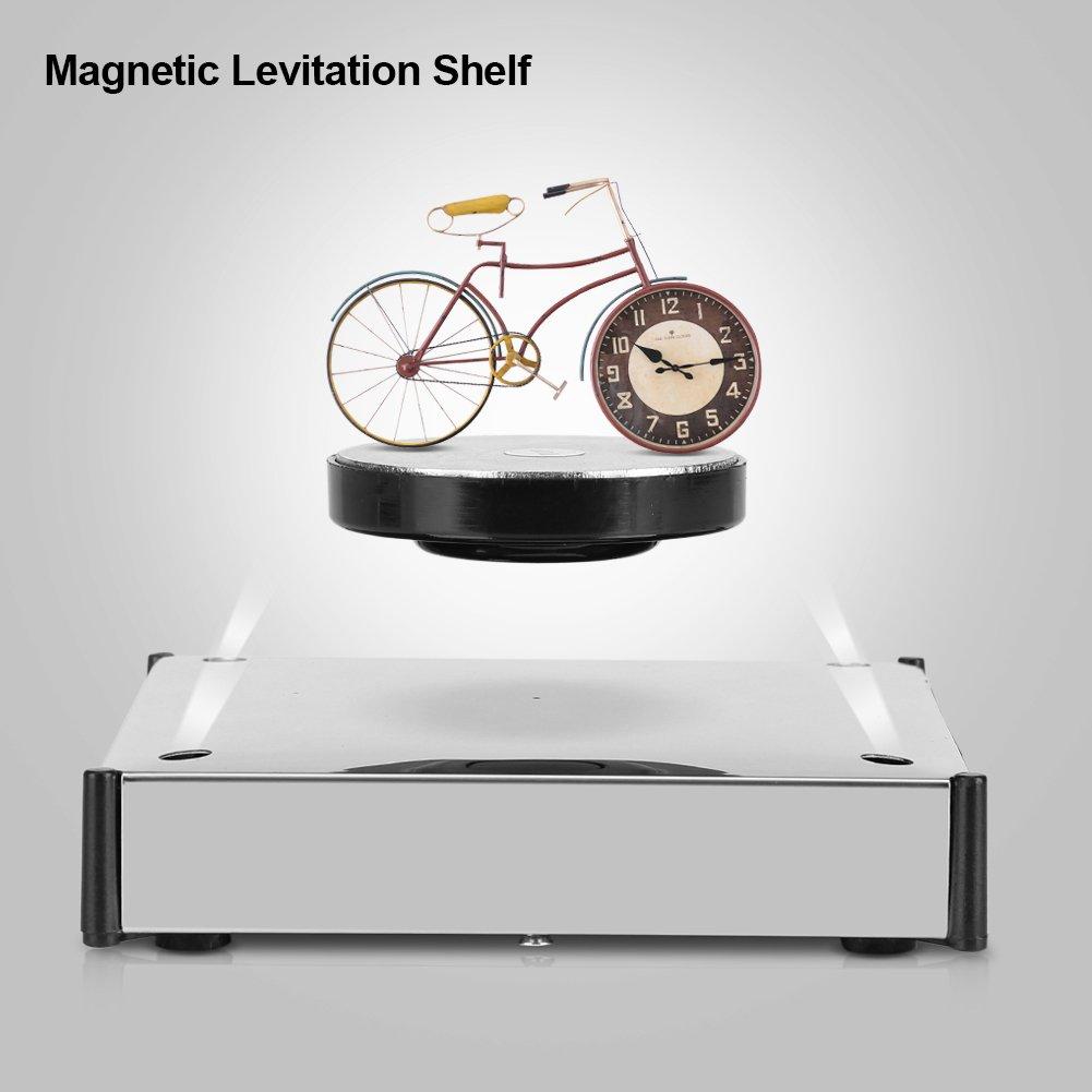 Fdit - Plataforma magnética de nivelación, rotación de 360 grados, pantalla LED, soporte flotante para decoración del hogar y la oficina: Amazon.es: Hogar