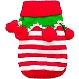 pet leso hundeweihnachts mantel haustier hund in santa kost m ausstattung mit einem haustier. Black Bedroom Furniture Sets. Home Design Ideas