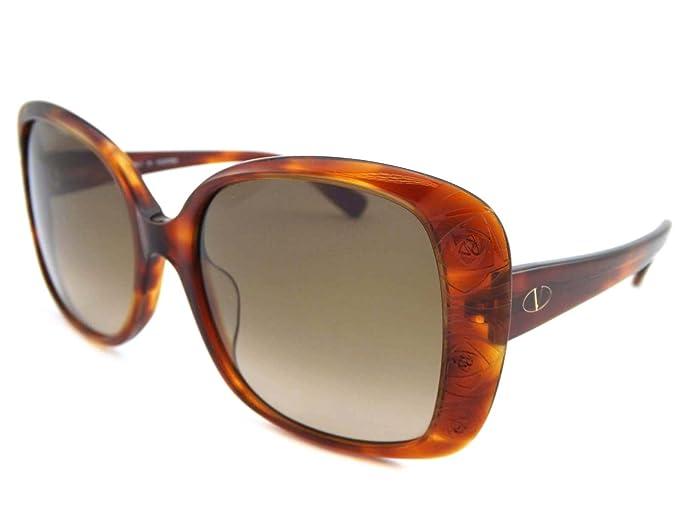 738abd46e20e Image Unavailable. Image not available for. Colour  Valentino Ladies  Sunglasses - Blonde Havana V618S 725