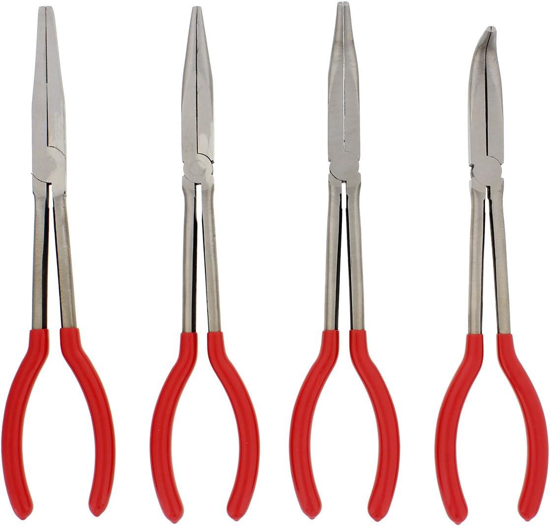 4tlg Pliers Set Side Cutters Combi Pliers Flat Nose Pliers Pliers 110-120mm