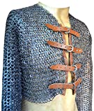 Rust Proof Half Maille Shirt with Fasteners Full Sleeve with Armpit Gusset Chest 36 ABS review
