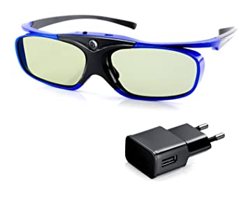 Cinemax - 3 Paires de lunettes 3D actives DLP-LINK