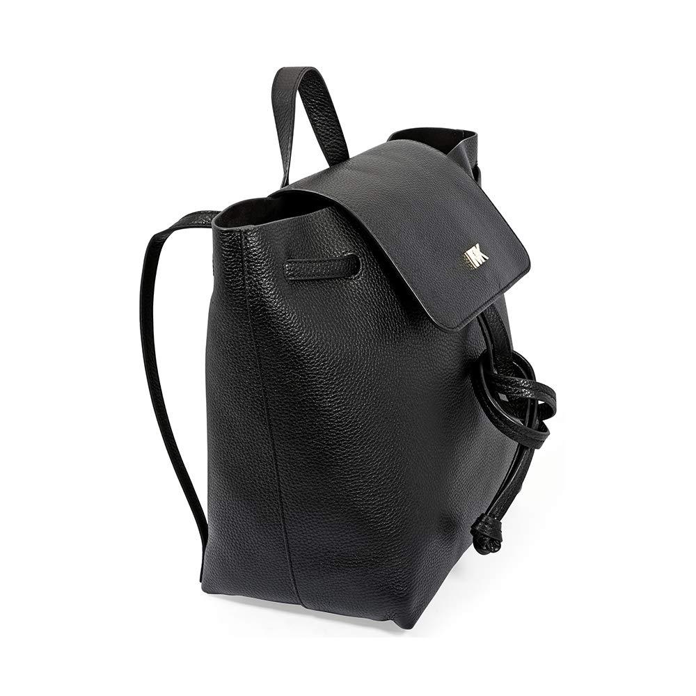 efd062777934 Amazon.com: MICHAEL Michael Kors Junie Medium Pebbled Leather Backpack:  Shoes
