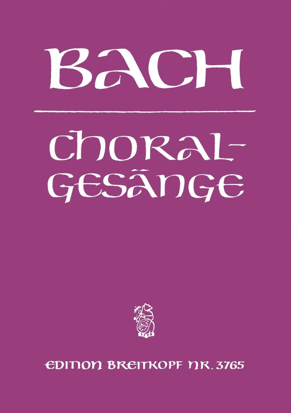 389 Choralgesänge für vierstimmigen gemischten Chor (EB 3765)