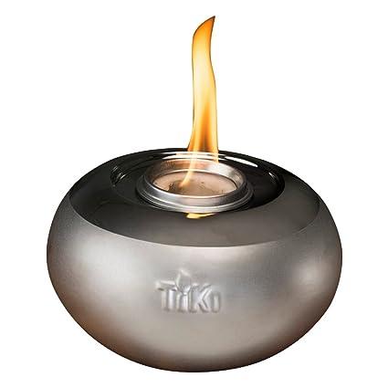 Bon Tiki Brand 6u0026quot; Clean Burn Ceramic Pearl Of The Sea Table Torch  Firepiece, ...