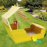 Wooden Pirate Ship Sand box