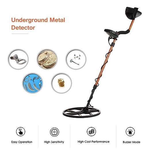 Amazon.com: Metal Detector, TIANXUN High Sensitivity Underground Metal Detector Gold Digger Hunter High Performance LCD Display Metal Finder Treasures ...